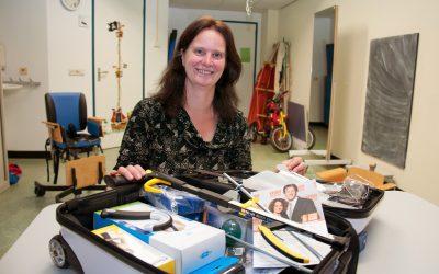 Give away: Koffers voor ergotherapie bij hersenletsel